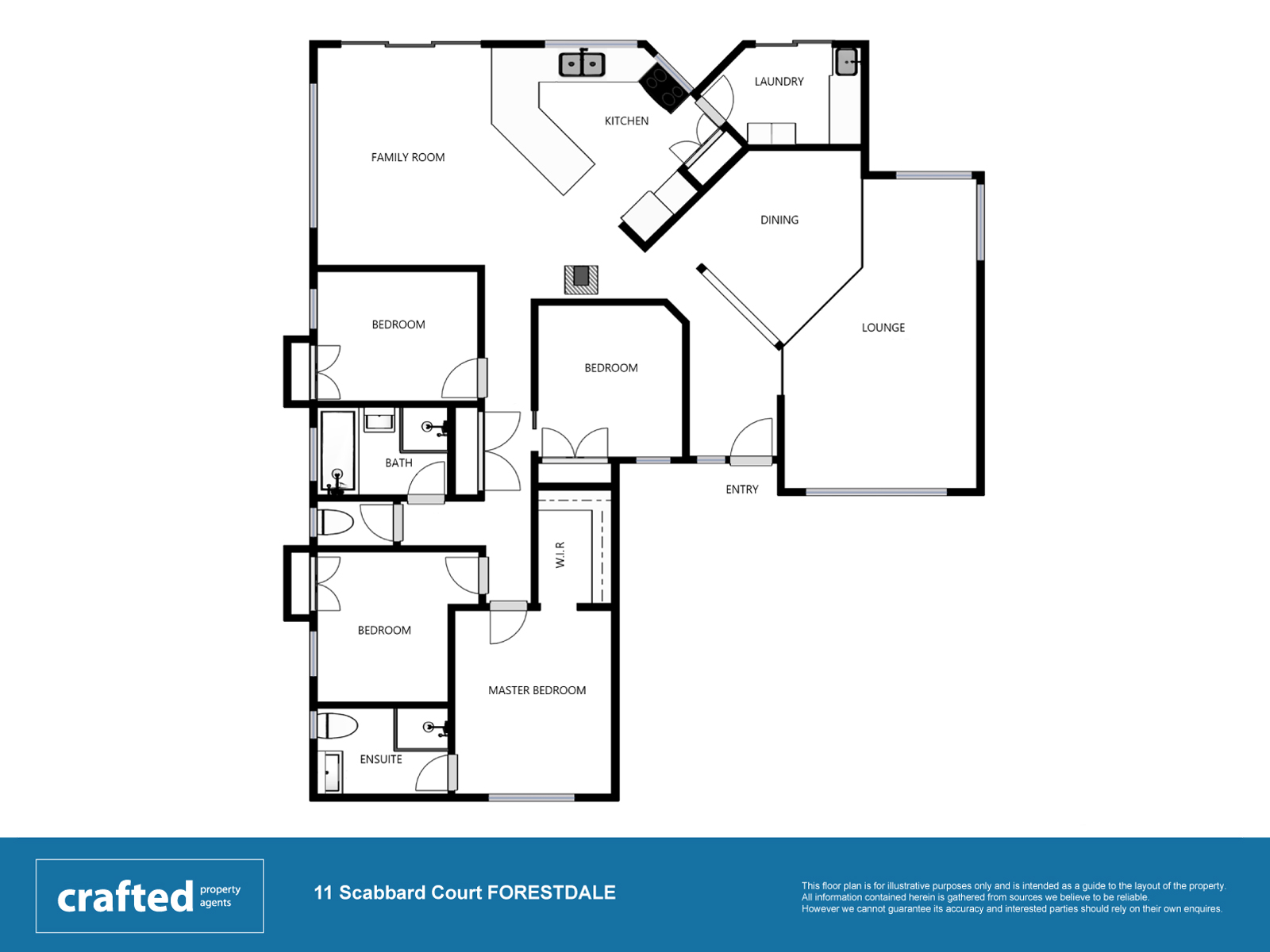 11 scabbard court forestdale crafted property agents for 11 brunel court floor plans